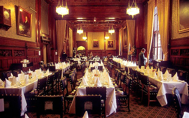 House of Lords dining room
